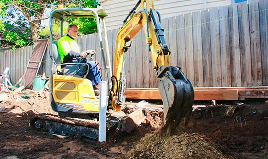 Excavator Contractors & Excavation Services